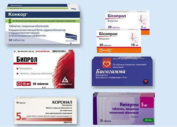 beta blokatori su lijekovi za hipertenziju