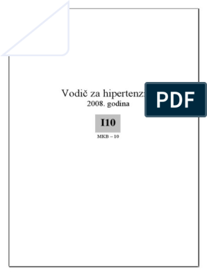MKB-10 poglavlje IX: Bolesti cirkulacijskog (krvožilnog) sustava