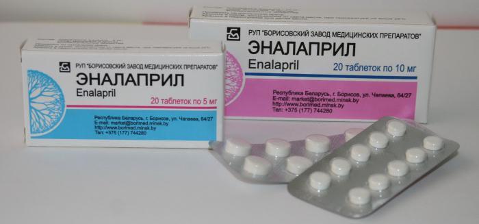 lijekove za visok krvni pritisak enalapril)