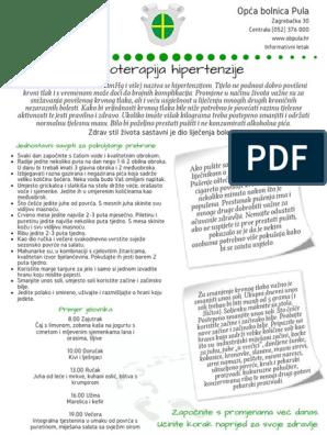 palentom hipertenzija liječenje)