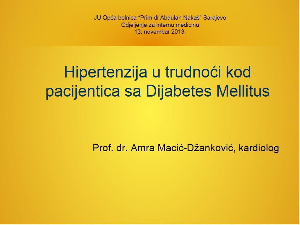 hipertenzija u 26 godina prognoza)