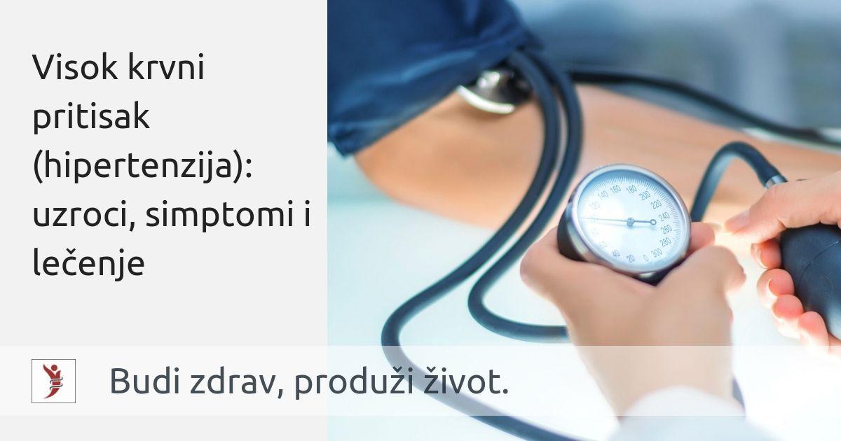 srčani simptomi hipertenzije
