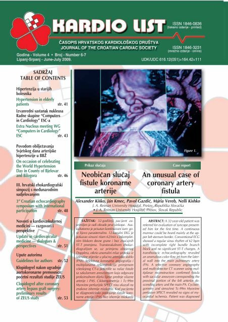hipertenzije i endokarditis)