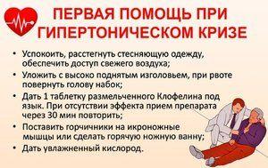 hitna prva pomoć za hipertenziju)