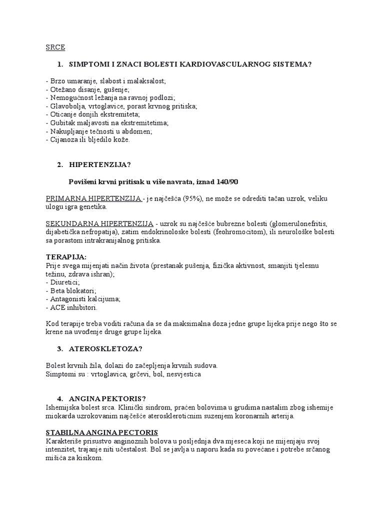 nitroglicerin hipertenzija
