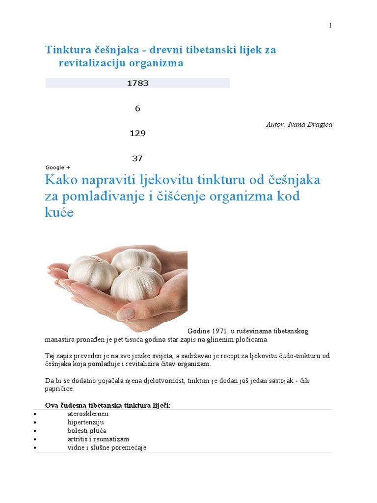 ajurveda za liječenje hipertenzije)
