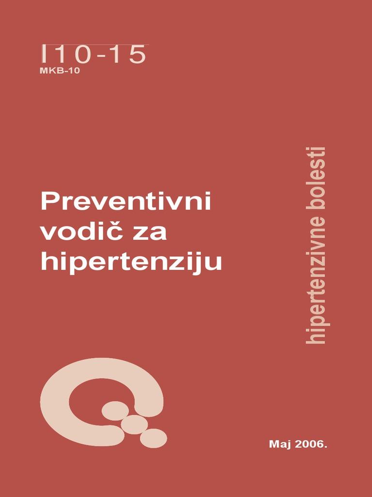 sekundarni preporuke hipertenzija)