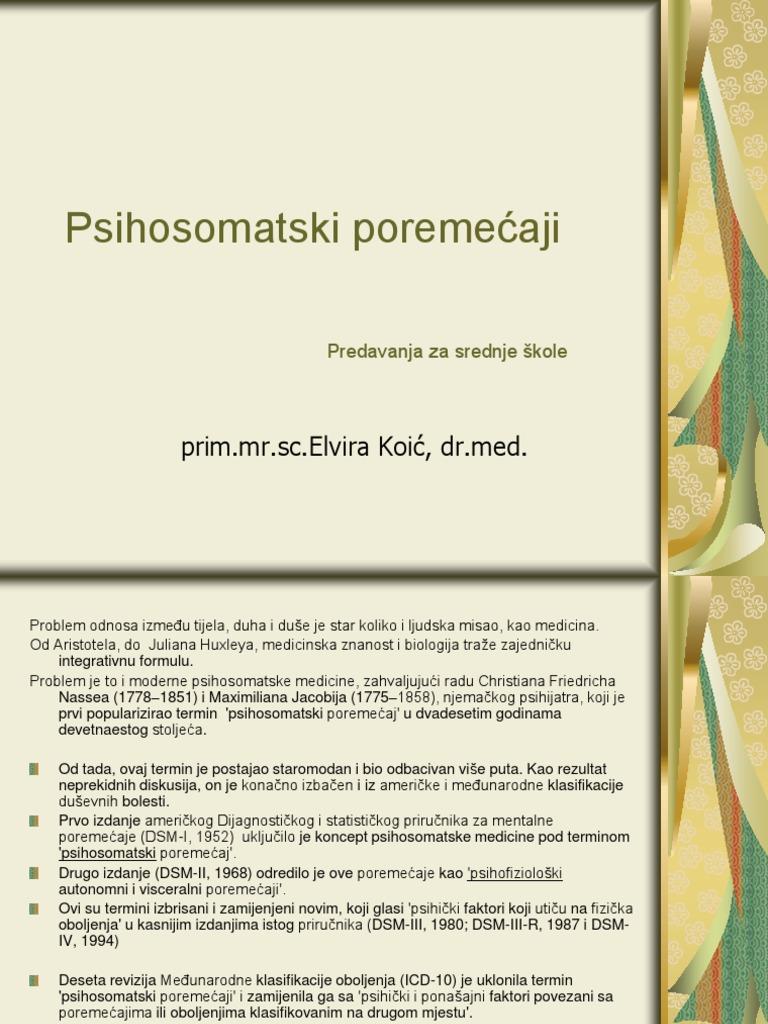 psihosomatika za liječenje hipertenzije
