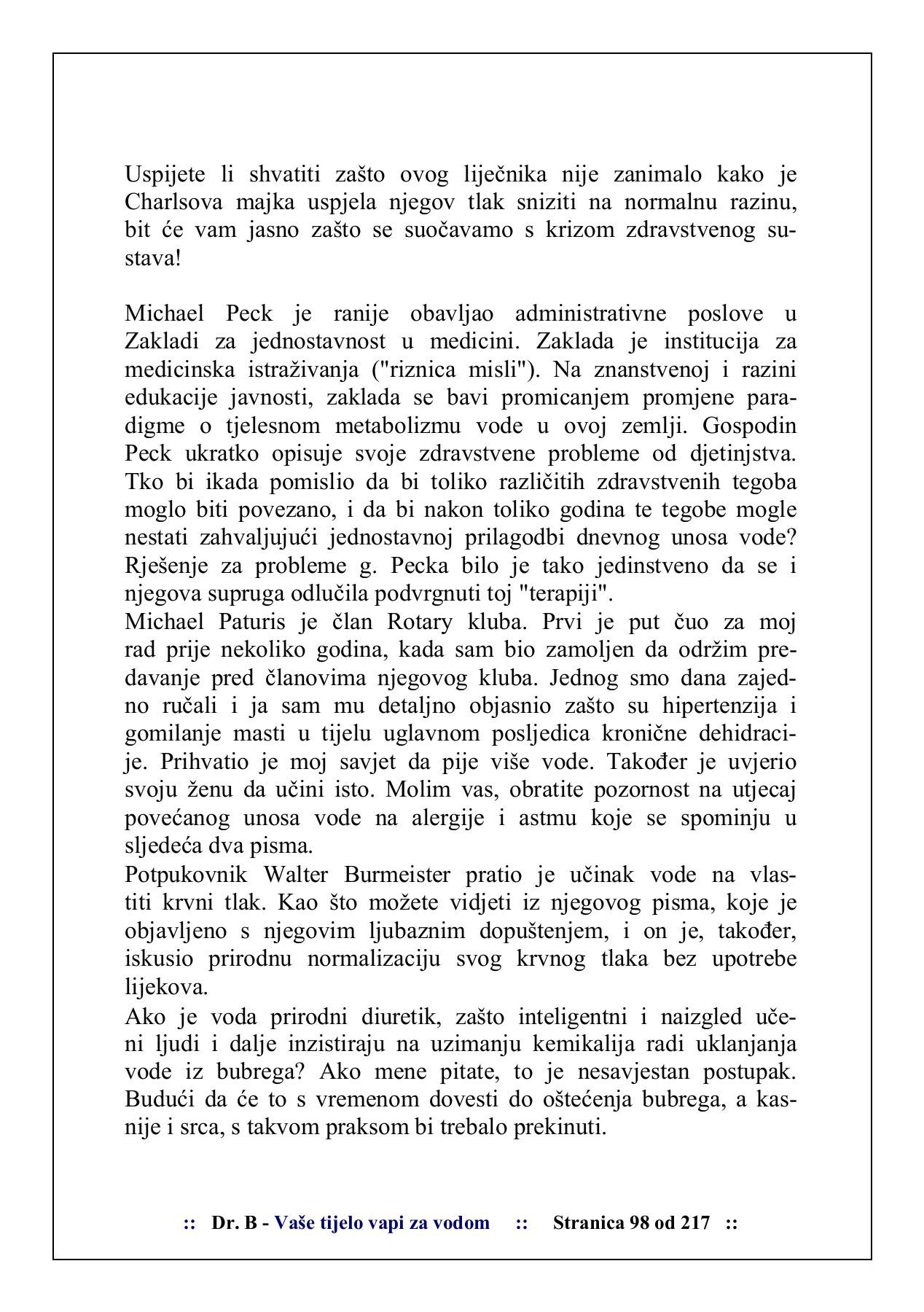 Visok krvni tlak (hipertenzija) - Stranica 10 - theturninggate.com