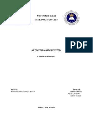 tretman bolesti idiopatske hipertenzije bolesti)