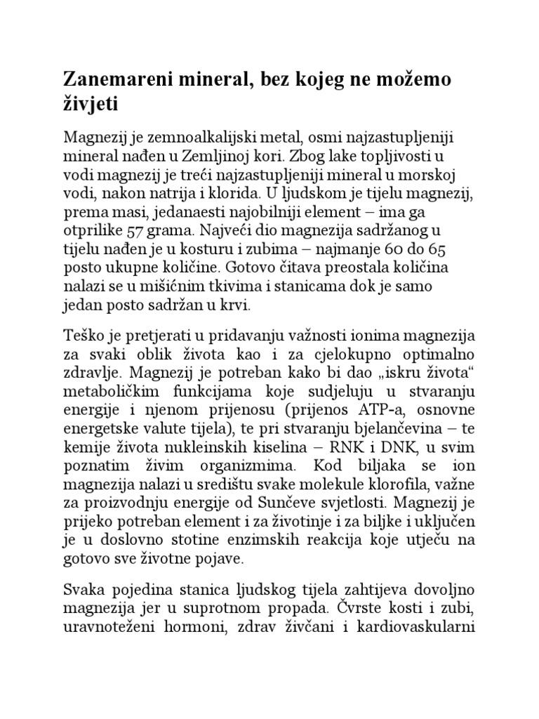 magnezijeva uzima za hipertenziju)