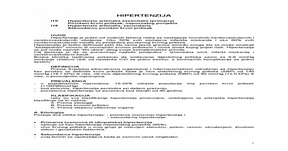 primjena nitroglicerina u hipertenzije)