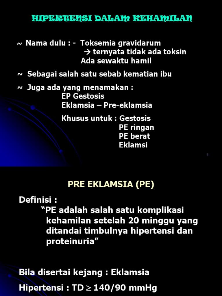 hipertenzije i hiperrefleksija)
