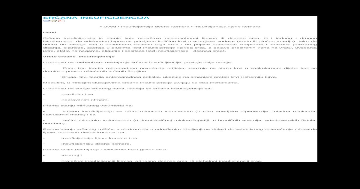 hipertenzija s vaskularnim insuficijencije)