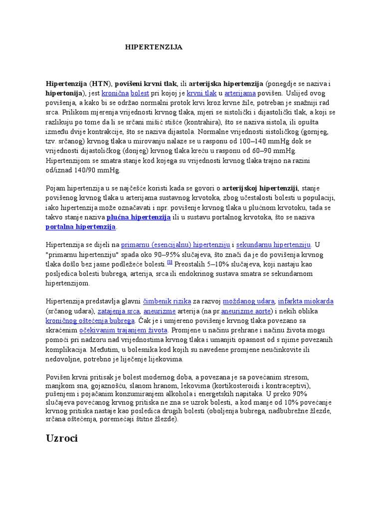 Bubrežna hipertenzija: uzroci, znakovi, pregled, terapija