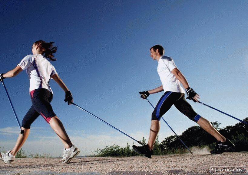 nordijsko hodanje od hipertenzije