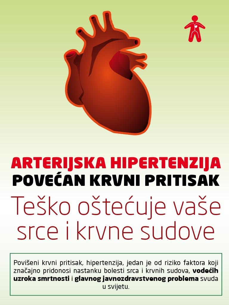 povećana hipertenzija srca