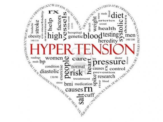 malko hipertenzijom