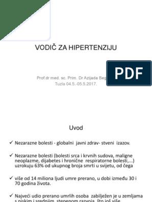prevencija i liječenje hipertenzije kod starijih osoba)