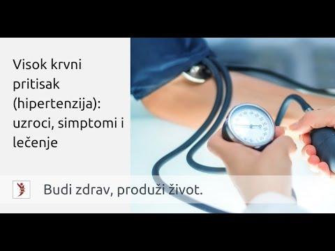hipertenzije, zatvor