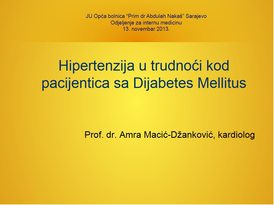 najbolja bolnica za liječenje hipertenzije