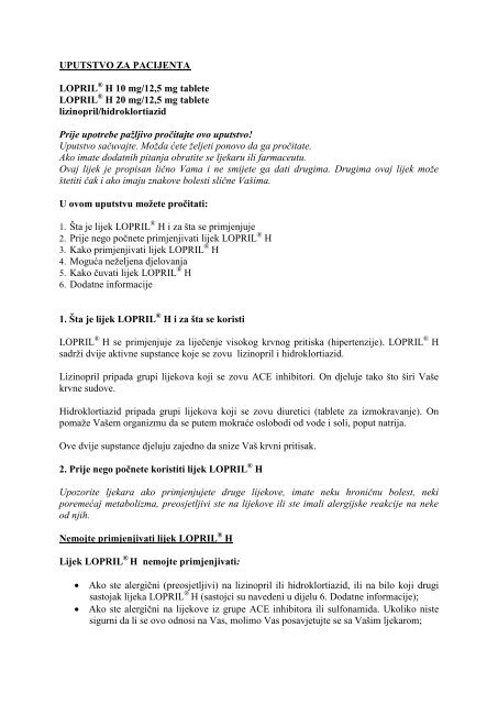 Visok krvni tlak (hipertenzija) - Stranica 4 - theturninggate.com
