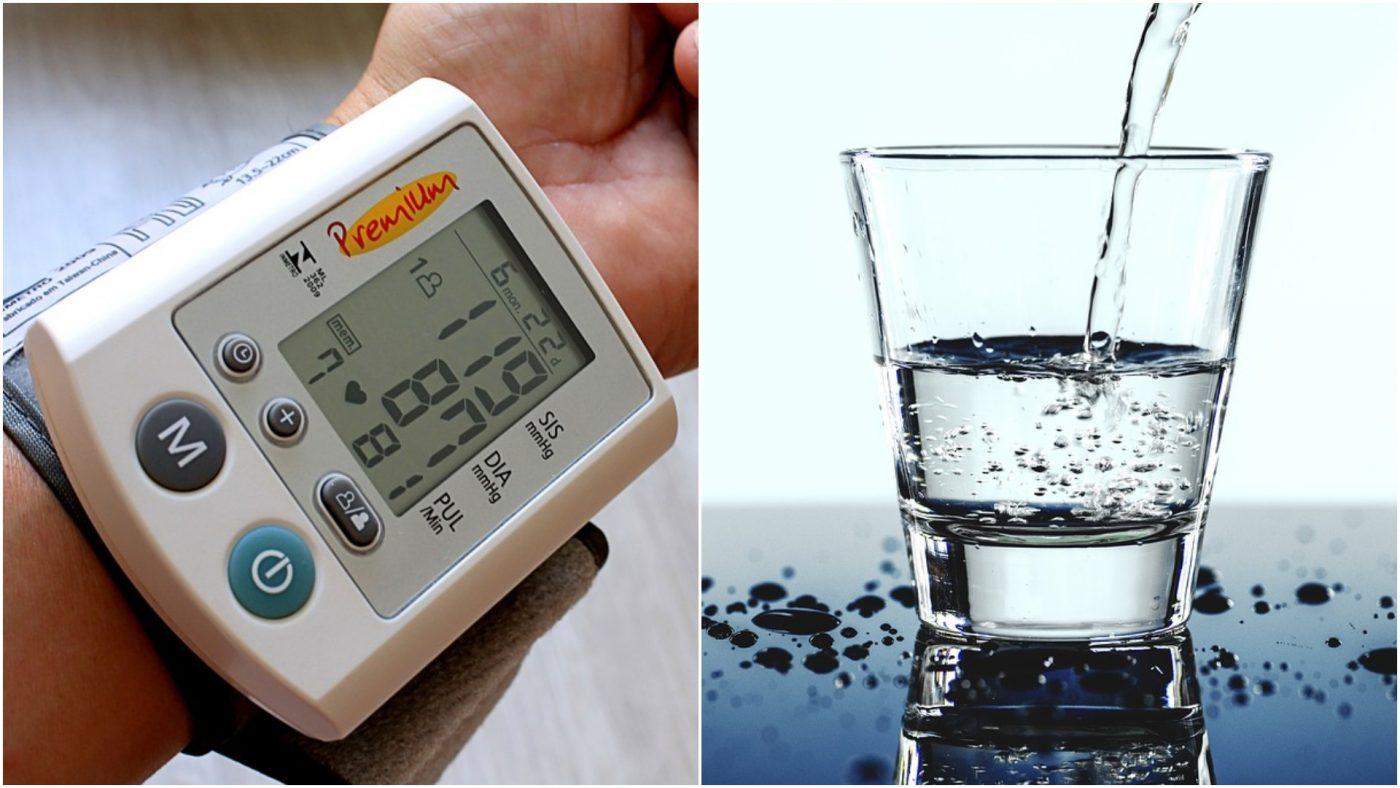 koliko tekućine piti s hipertenzijom