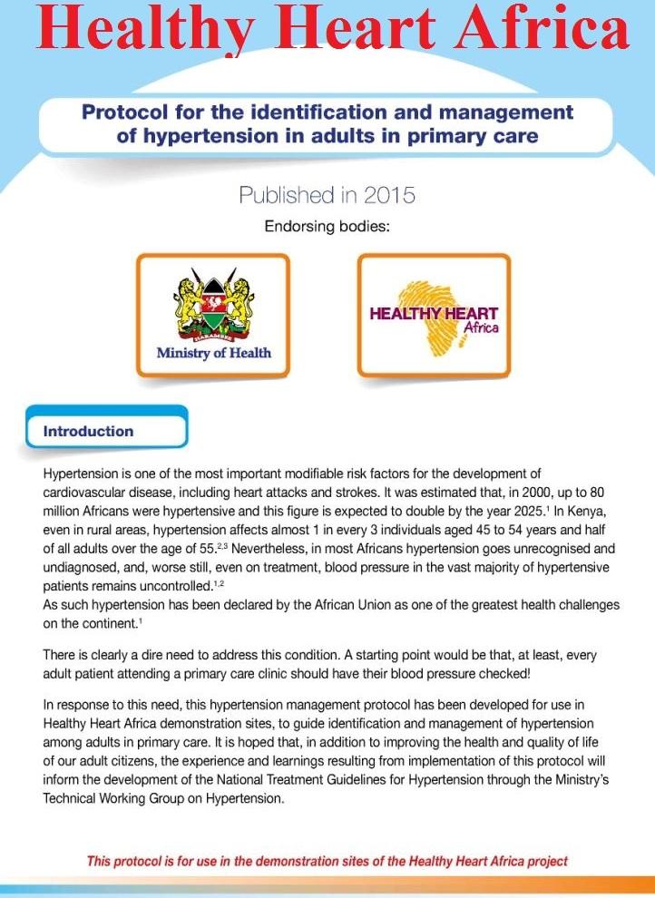 hipertenzija protokol