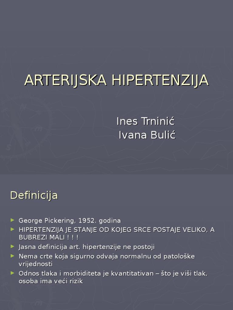 Nekontrolirano liječenje hipertenzije
