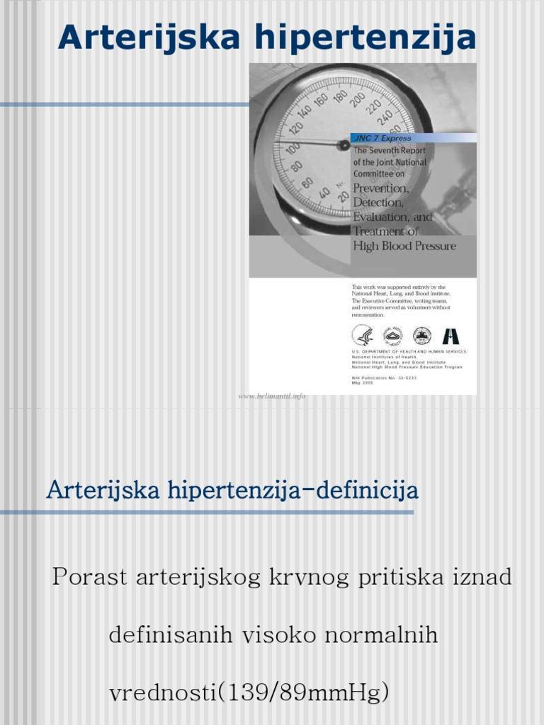 biokemija u krvi hipertenzije)