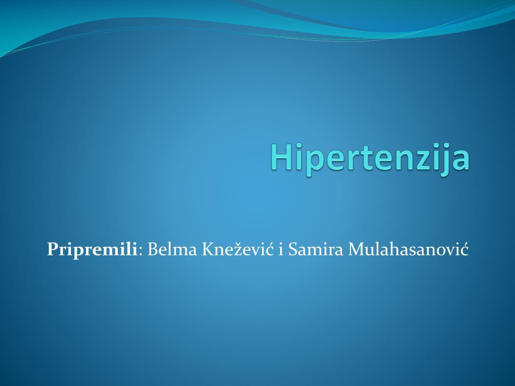 biokemijski mehanizam hipertenzije