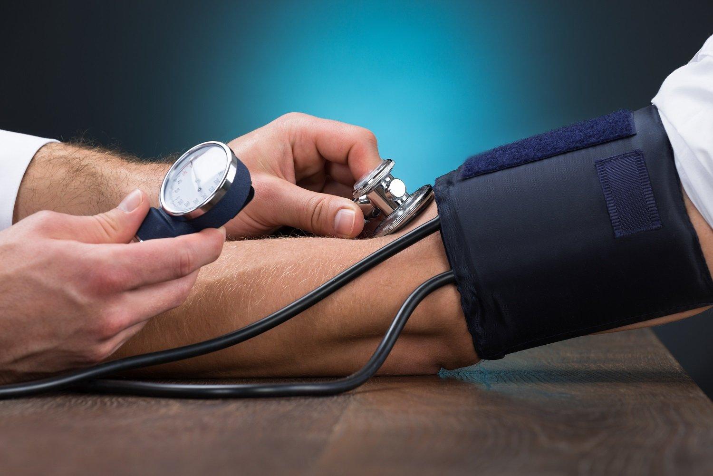 Bol u području srca s hipertenzijom