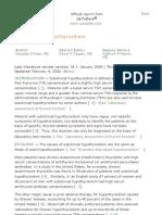 hipertenzija in oncology