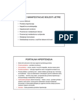 hipertenziju i bolesti jetre)