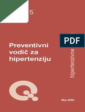 prosječni stupanj hipertenzije)
