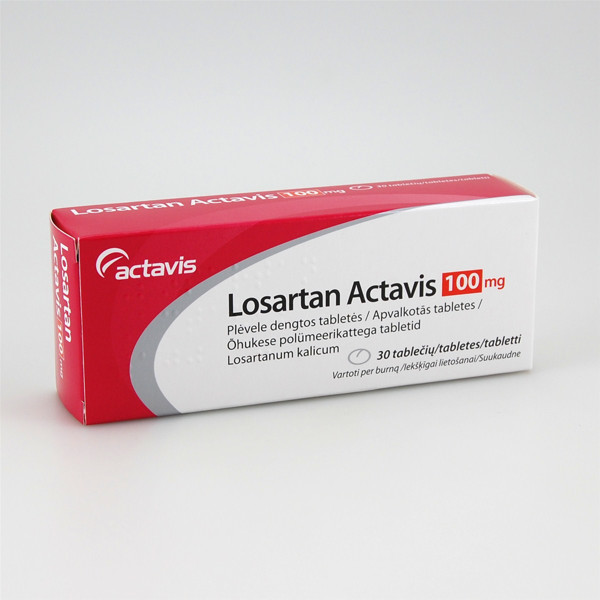 hipertenzija losartan tableta)