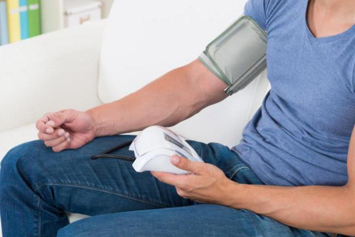 gornja i donja visokog krvnog tlaka)