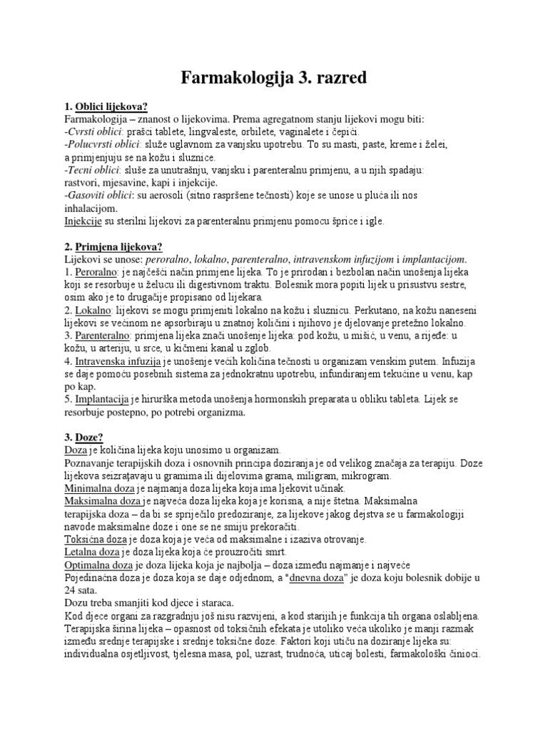 lijekovi za hipertenziju razred 2