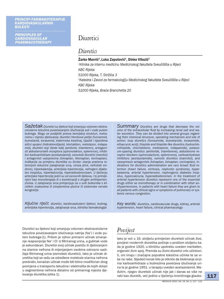 povijest hipertenzije, interne medicine
