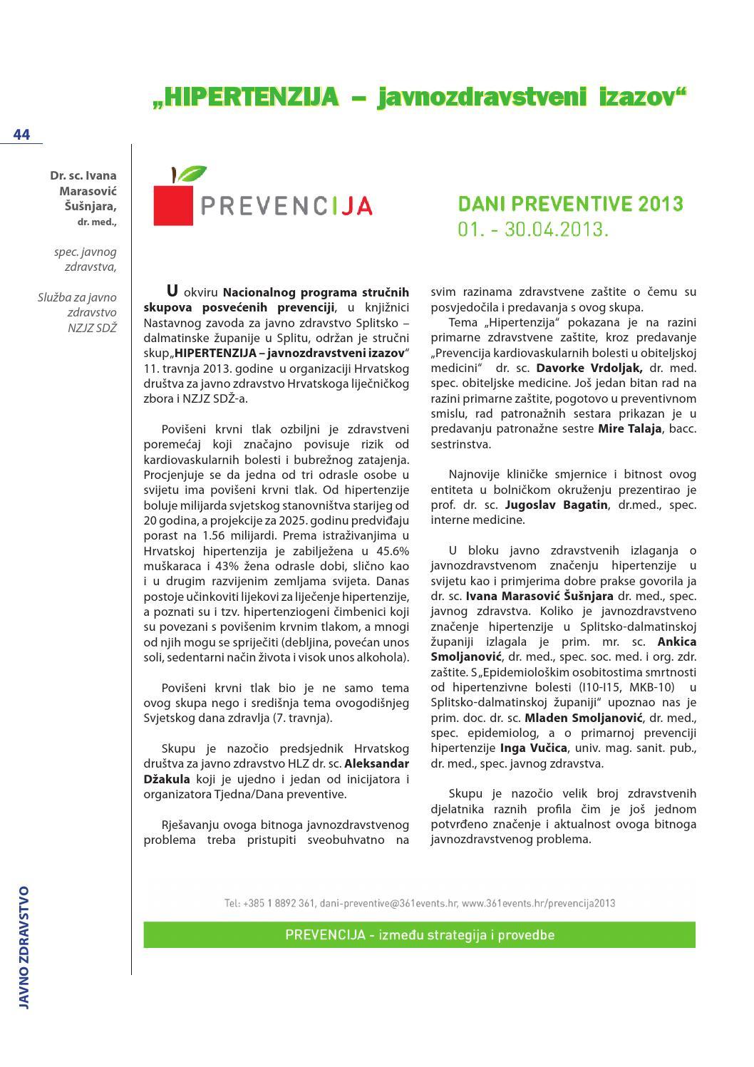 primarna prevencija hipertenzije)