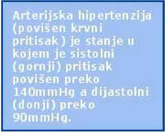 hipertenzija i hipertenzija sinonimi)