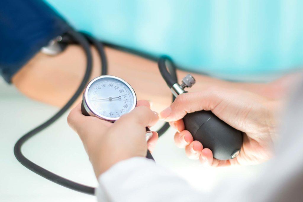 oticanje lica i hipertenzije