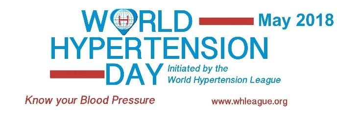 14. svibnja Svjetski dan hipertenzije