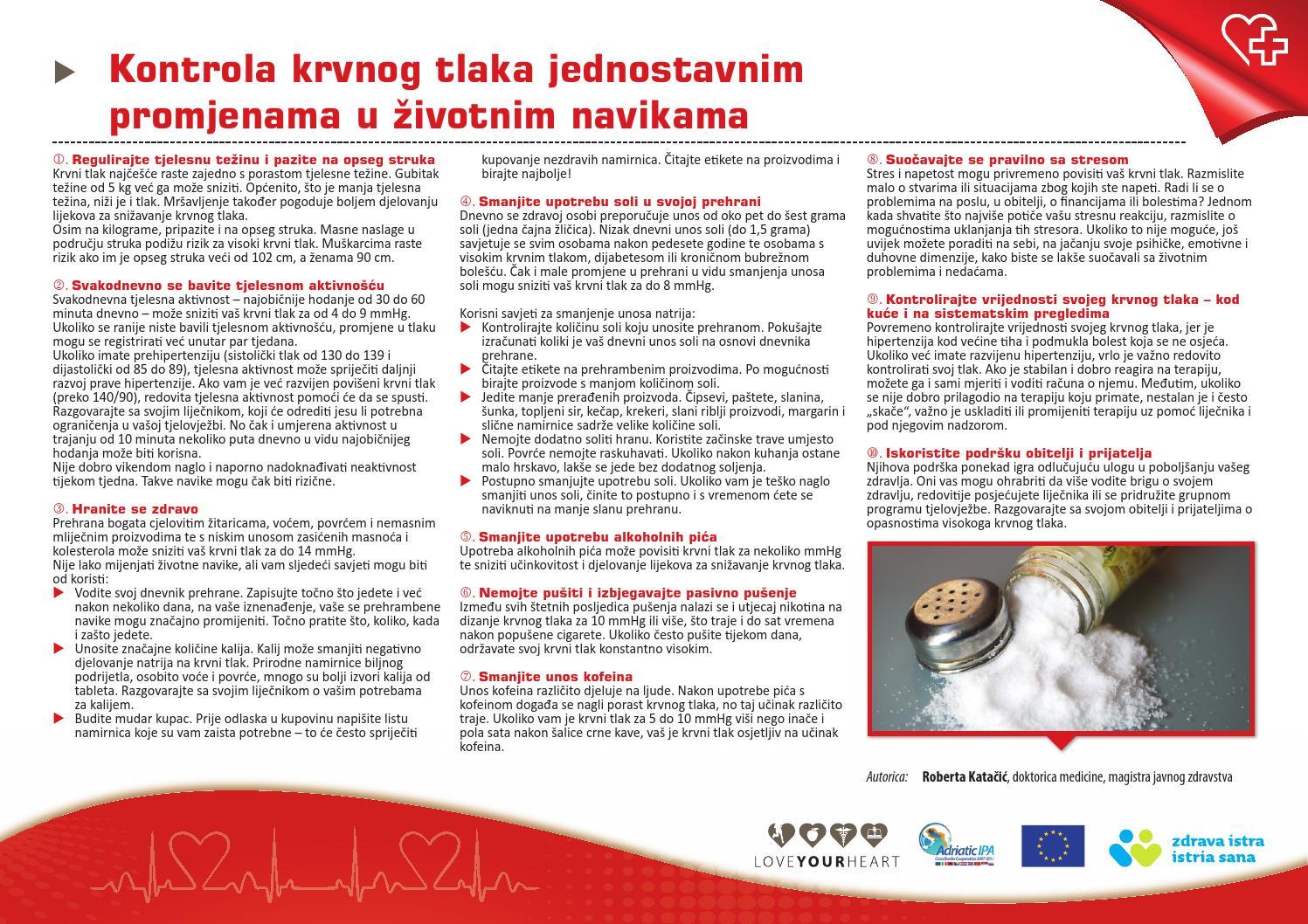 Korisni i štetni proizvodi za hipertenziju