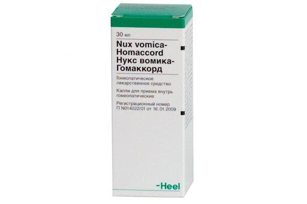 nux vomica za hipertenziju