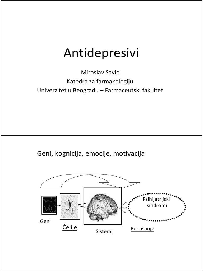 Antidepresivi – Wikipedija