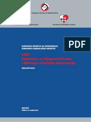 smjernice kliničke prakse za hipertenziju