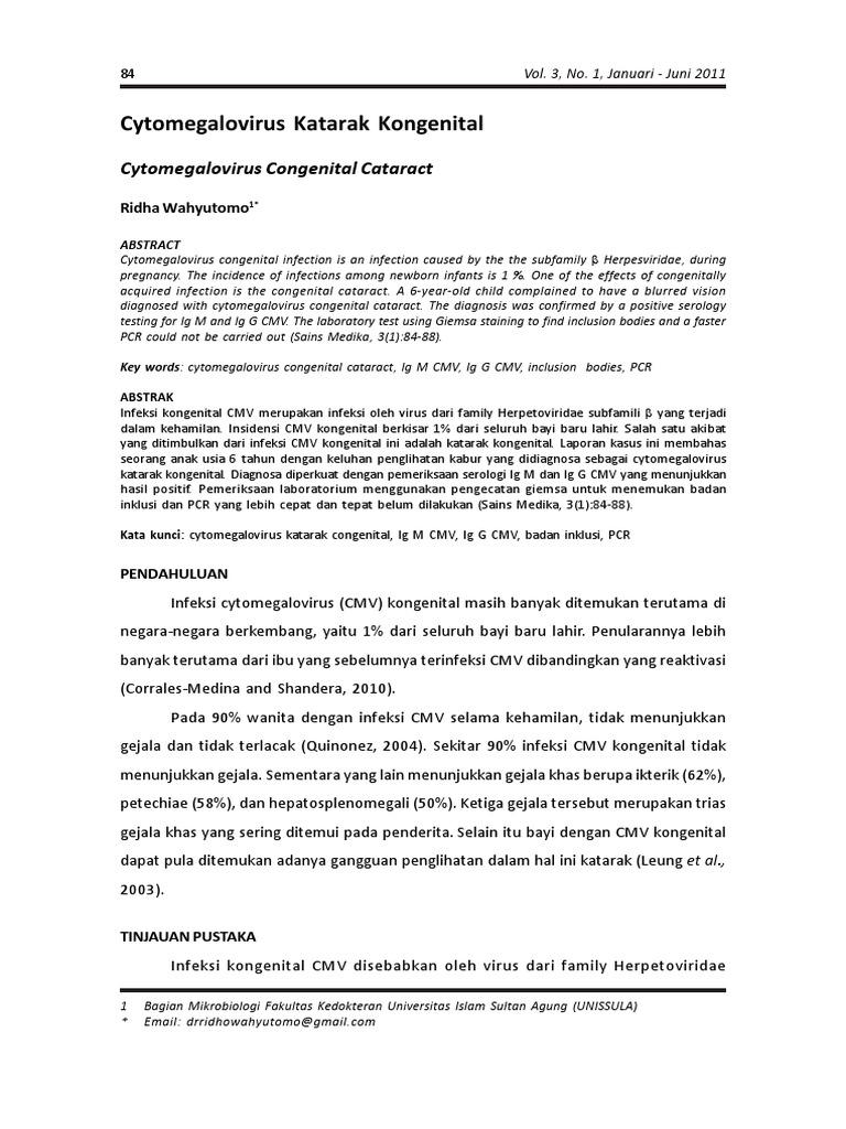 citomegalovirus hipertenzija)