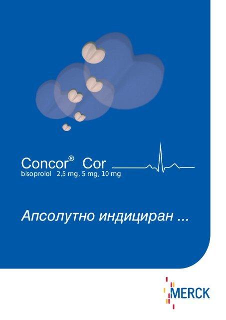 concor cor hipertenzija