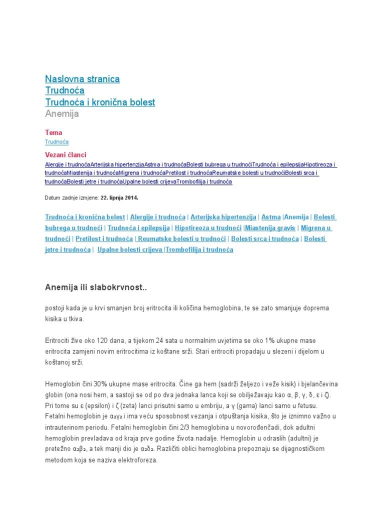 Hipertenzija u zatajenju bubrega